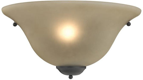 Cornerstone 5171WS/10 1 Light Wall Sconce In Oil Rubbed Bronze - Peazz.com