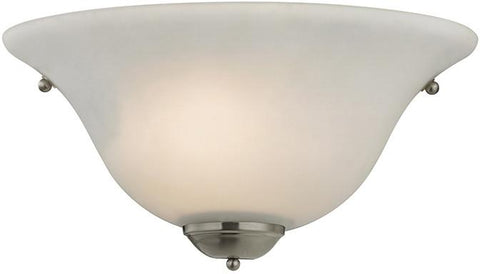 Cornerstone 5171WS/20 1 Light Wall Sconce In Brushed Nickel - Peazz.com