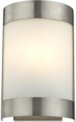 Cornerstone 5181WS/20 1 Light Wall Sconce In Brushed Nickel - Peazz.com