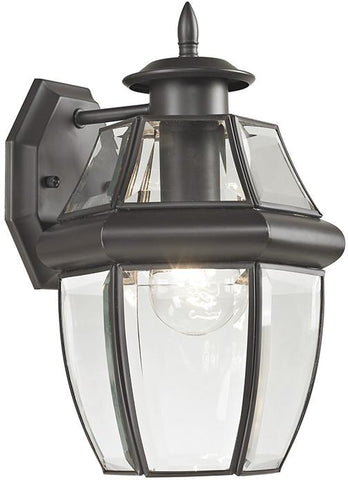 Cornerstone 8601EW/75 Ashford 1 Light Exterior Coach Lantern In Oil Rubbed Bronze - Peazz.com