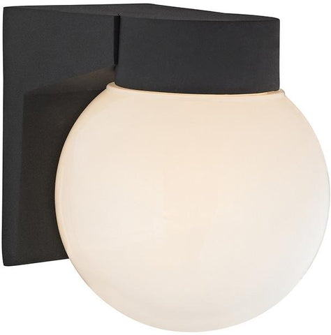 Cornerstone 9201EW/65 1 Light Outdoor Wall Sconce In Matt Black - Peazz.com