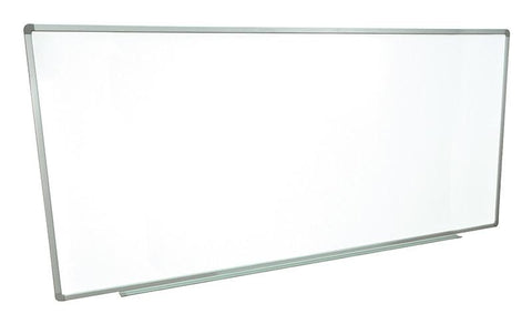 "Luxor WB9640W Wall-mounted whiteboards 96"" x 40"" - Peazz.com"