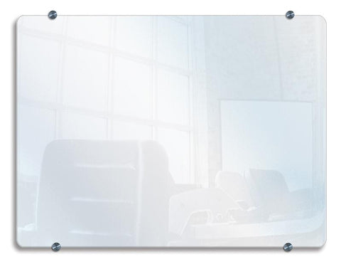 "Luxor WGB4030 Luxor Wall-Mounted Glass Board 40""W x 30""H - Peazz.com"