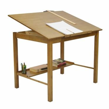 "Studio Designs 13253 Americana II Drafting Table Ð 36"" X 48"" Light Oak - Peazz.com"