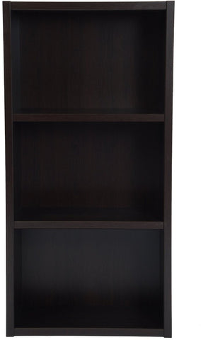 Boraam 40010 Techny Collection Hartley Bookcase, Espresso - Peazz.com