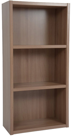 Boraam 40080 Techny Collection Hartley Bookcase, Light Oak - Peazz.com