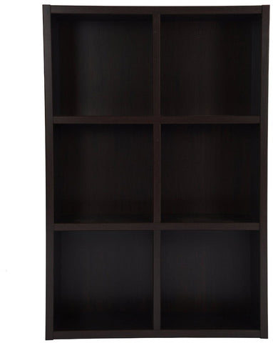 Boraam 50011 Techny Collection Nash Bookcase, Espresso - Peazz.com