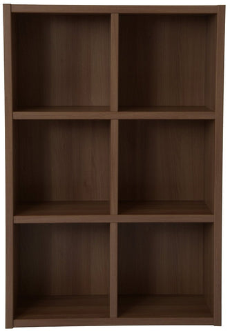 Boraam 50080 Techny Collection Nash Bookcase, Light Oak - Peazz.com