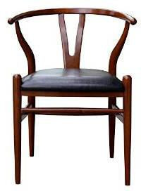 Boraam 51018 Wishbone Dining Chair, Cherry - Peazz.com