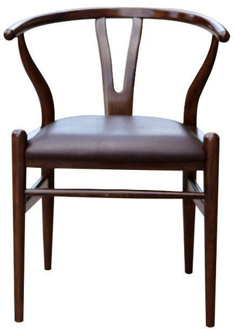Boraam 52018 Wishbone Dining Chair, Cappuccino - Peazz.com