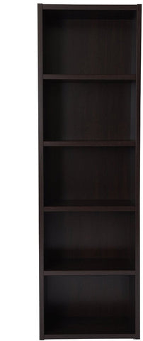 Boraam 60010 Techny Collection Miro Bookcase, Espresso - Peazz.com