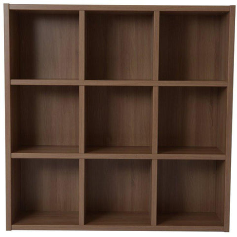 Boraam 70080 Techny Collection Tobey Bookcase, Light Oak - Peazz.com