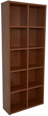 Boraam 80131 Techny Collection Calder Bookcase, Golden Oak - Peazz.com