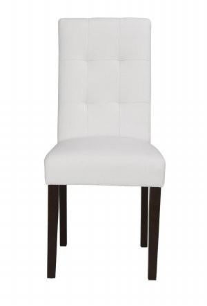 Boraam 82218 Lyon Parson Dining Chair, set of 2, White - Peazz.com