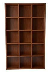 Boraam 90131 Techny Collection Kline Bookcase, Golden Oak - Peazz.com