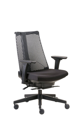 Boss Office Products B6550-BK Boss Contemporary Executive Chair - Peazz.com