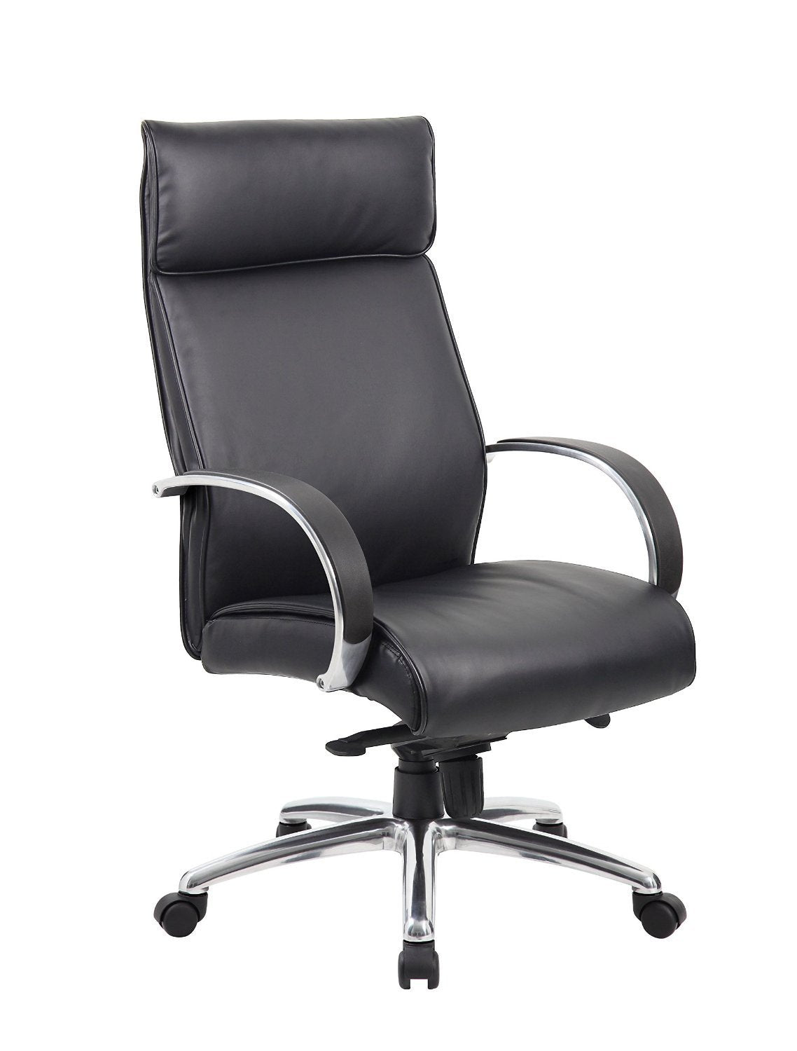 Upholstery | Executive | Office | Finish | Chair | Black | Boss | Knee | Back | High