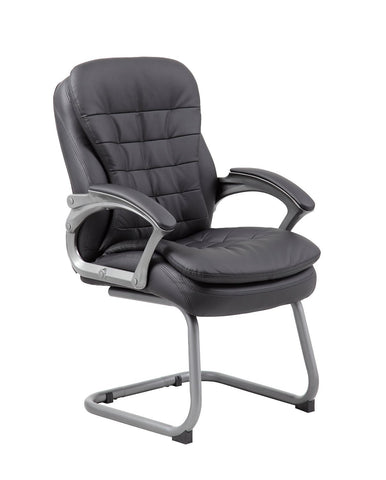 Boss Office Products B9339 Boss Executive Pillow Top Guest Chair - Peazz.com