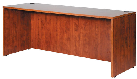 "Boss Office Products N111-C Boss 66"" Credenza - Cherry - Peazz.com"