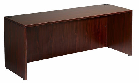 Boss Office Products N143-M Boss Credenza Shell, Mahogany 71*24 - Peazz.com