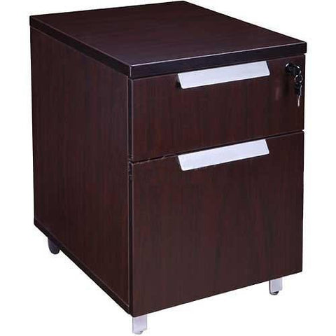 Boss Office Products N8011-MOC Boss Modular Laminate Series Mobile Pedestal - Peazz.com