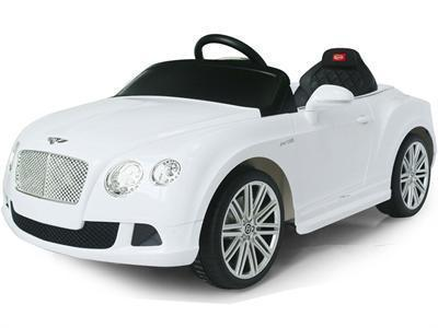 Rastar RA-82100_White Bentley GTC 12v White RC - Peazz.com