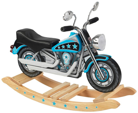 KidKraft 10018 Star Studded Rockin' Motorcycle w/ sound - Peazz.com