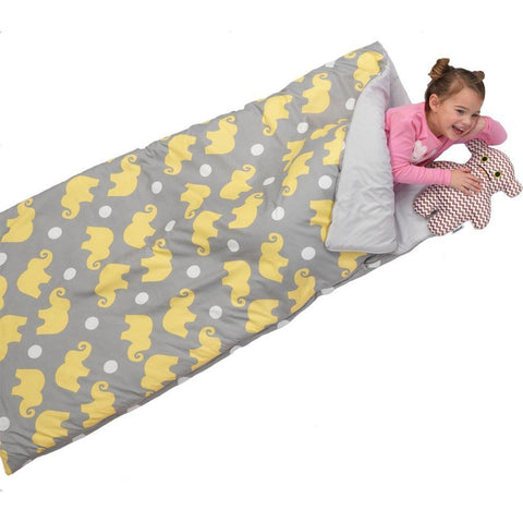 KidKraft 77012 Sleeping Bag - Elephants - Peazz.com