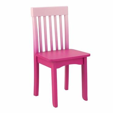 KidKraft 16636 Avalon Chair - Hot Pink Ombre - Peazz.com