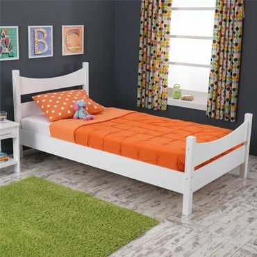 KidKraft 76271 Addison Twin Bed White - Peazz.com