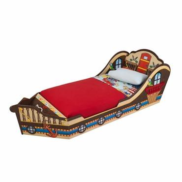 KidKraft 86928 Pirate Toddler Bed - Peazz.com