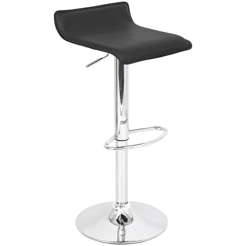 LumiSource BS-TW-ALE BK Ale Bar Stool - BarstoolDirect.com