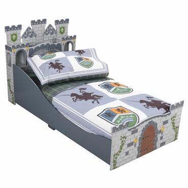 KidKraft 77007 Knights & Shields Toddler Bedding 4 pc Set - Peazz.com