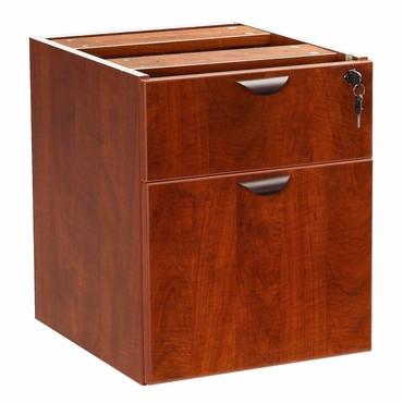 Boss Office Products N108-C Boss 2 Hanging Pedestal - 3/4 Box/File , Cherry - Peazz.com