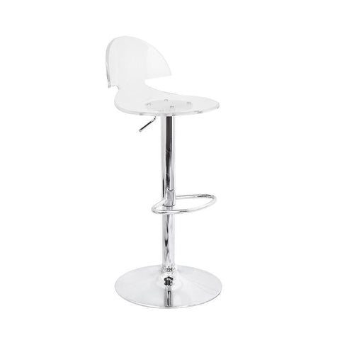 LumiSource BS-TW-VENTI CL Venti Bar Stool - BarstoolDirect.com