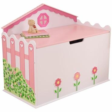 KidKraft 76258 Dollhouse Toy Box - Peazz.com
