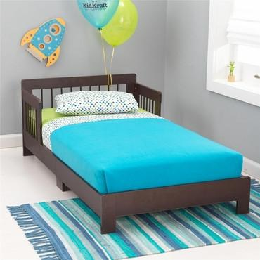 KidKraft 76245 Houston Toddler Bed - Espresso - Peazz.com
