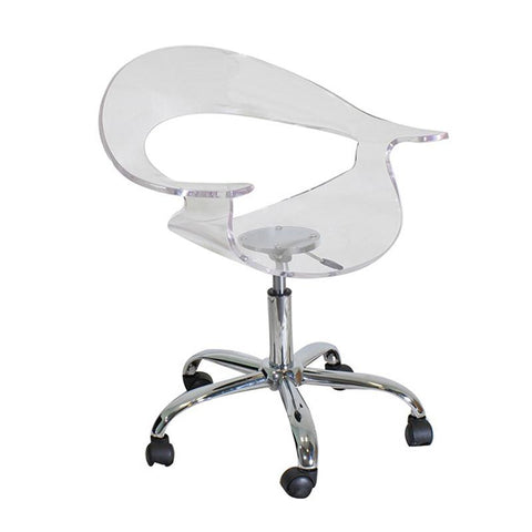 LumiSource CHR-TW-RUMOR CL Rumor Office Chair - Peazz.com
