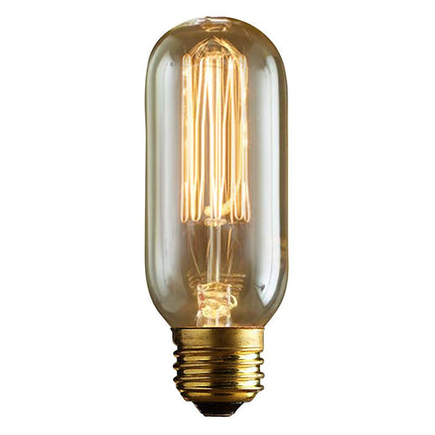 LumiSource LBE-T1743 60W Edison Bulb Tubular - Peazz.com