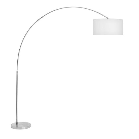 LumiSource LS-L-SALFLR W Salon Floor  Lamp - Peazz.com