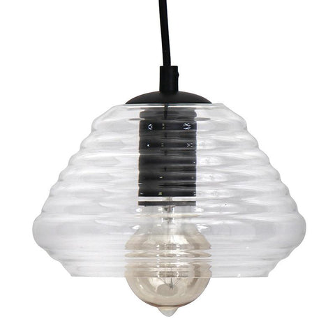 LumiSource LS-OTRSTRI7 CL Torus-Triangle Pendant Lamp - Peazz.com