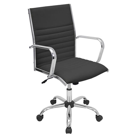 LumiSource OFC-AC-MSTR BK Master Office Chair - Peazz.com