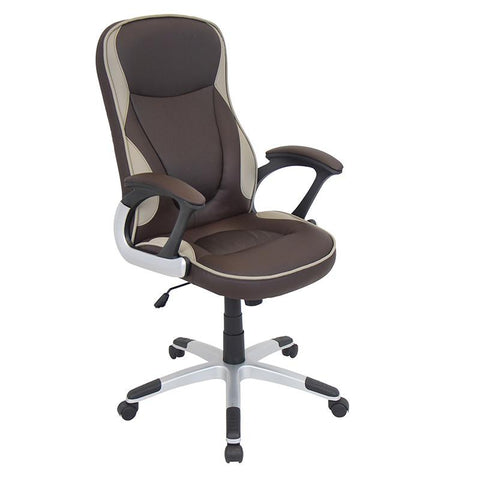 LumiSource OFC-AC-STORM BN Storm Office Chair - Peazz.com