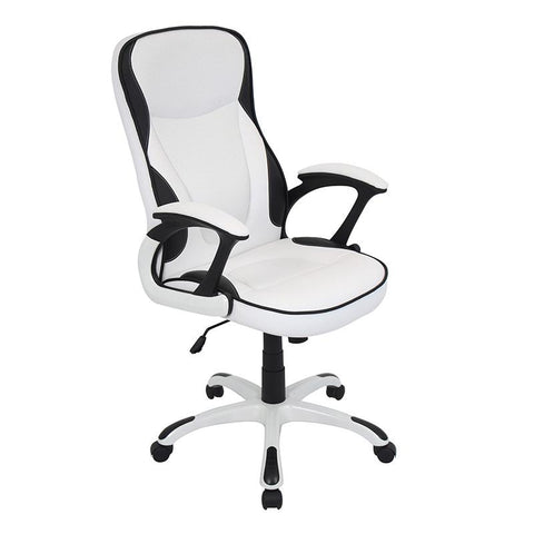 LumiSource OFC-AC-STORM W Storm Office Chair - Peazz.com