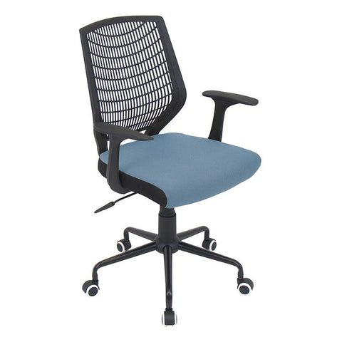 LumiSource OFC-NET BK+SMBU Network Office Chair - Peazz.com