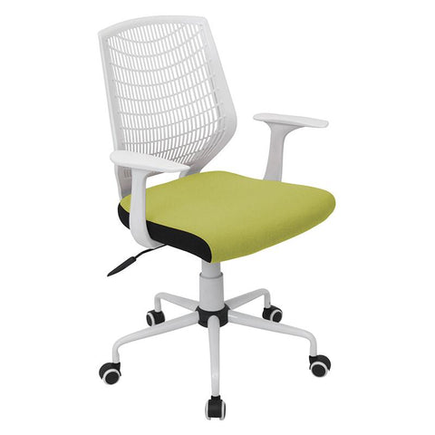 LumiSource OFC-NET W+LG Network Office Chair - Peazz.com