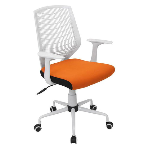 LumiSource OFC-NET W+O Network Office Chair - Peazz.com