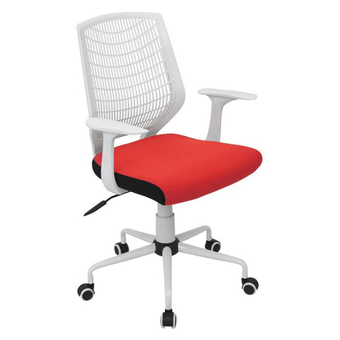 LumiSource OFC-NET W+R Network Office Chair - Peazz.com