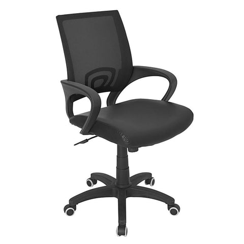 LumiSource OFC-OFFCR BK Officer Office Chair - Peazz.com