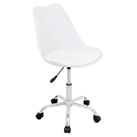 LumiSource OFC-PTL W+W Petal Office Chair - Peazz.com